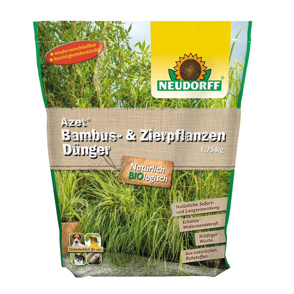Neudorff Azet Bambus- und Zierpflanzen Dünger, 1,75 kg