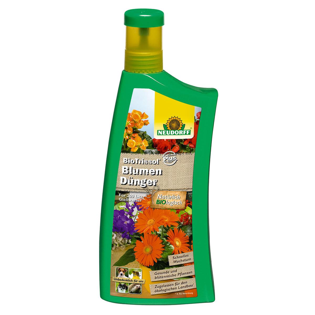 Neudorff BioTrissol Plus BlumenDünger, 1 Liter