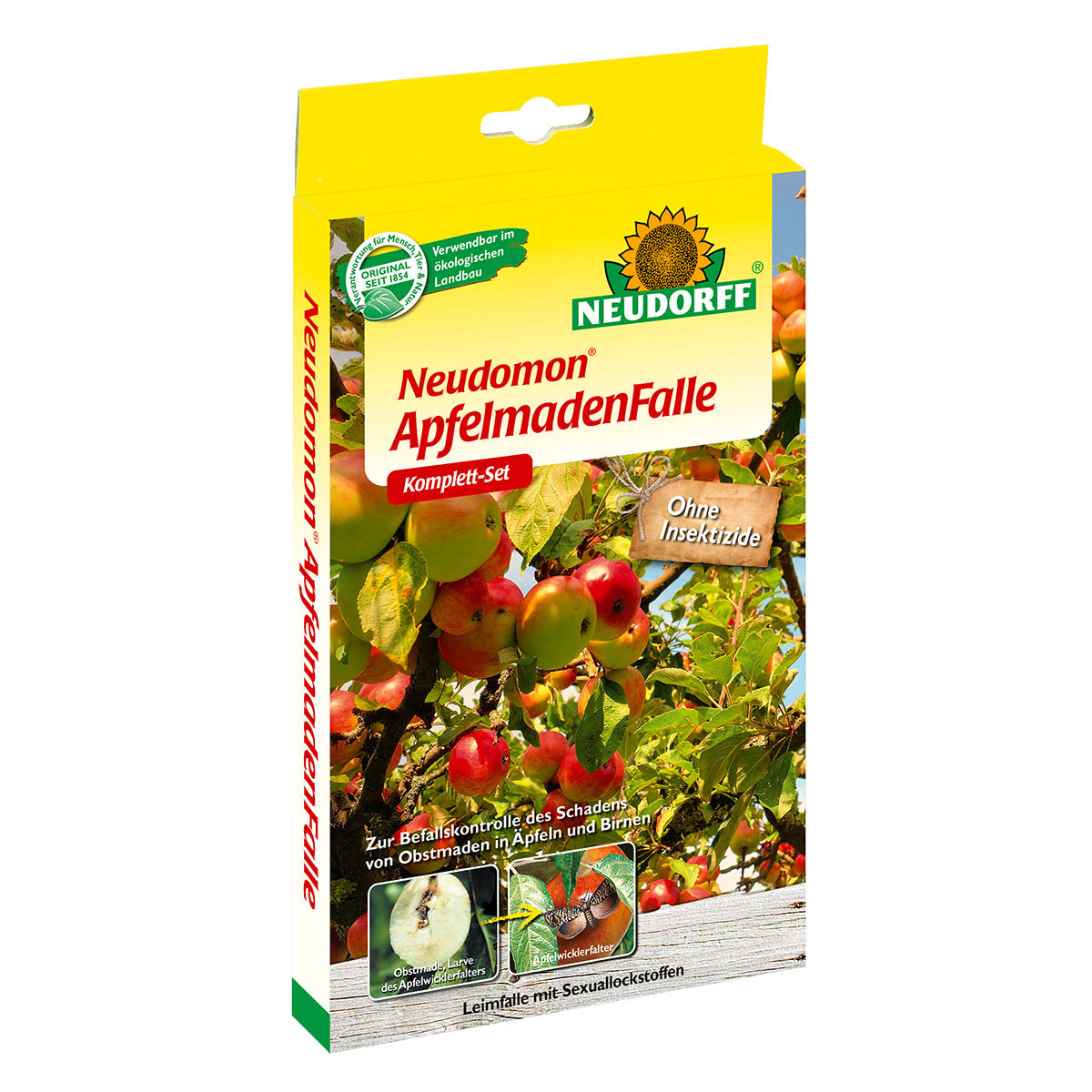 Neudorff Neudomon ApfelmadenFalle, 1 Komplett-Set
