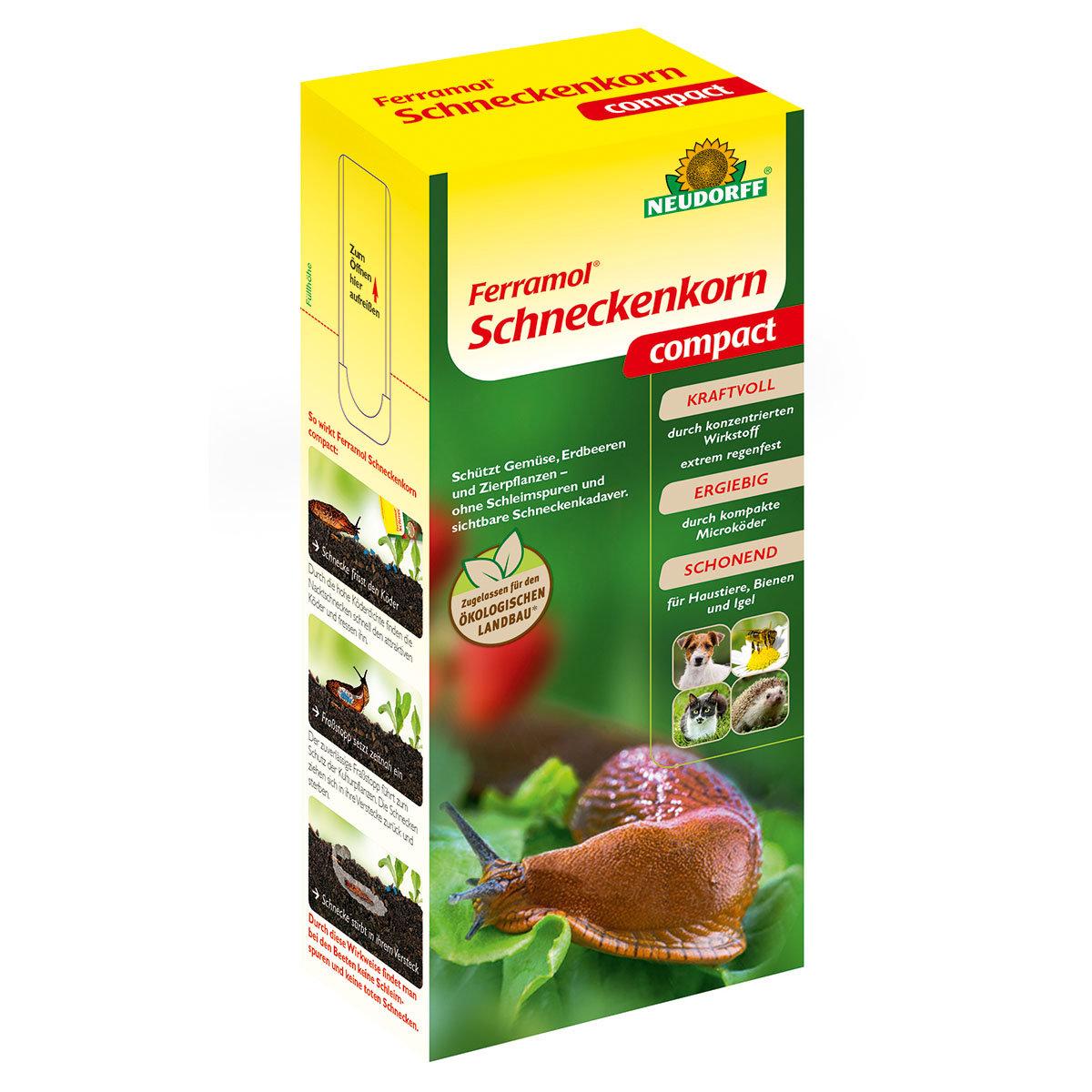 Neudorff Ferramol Schneckenkorn compact, 700 g