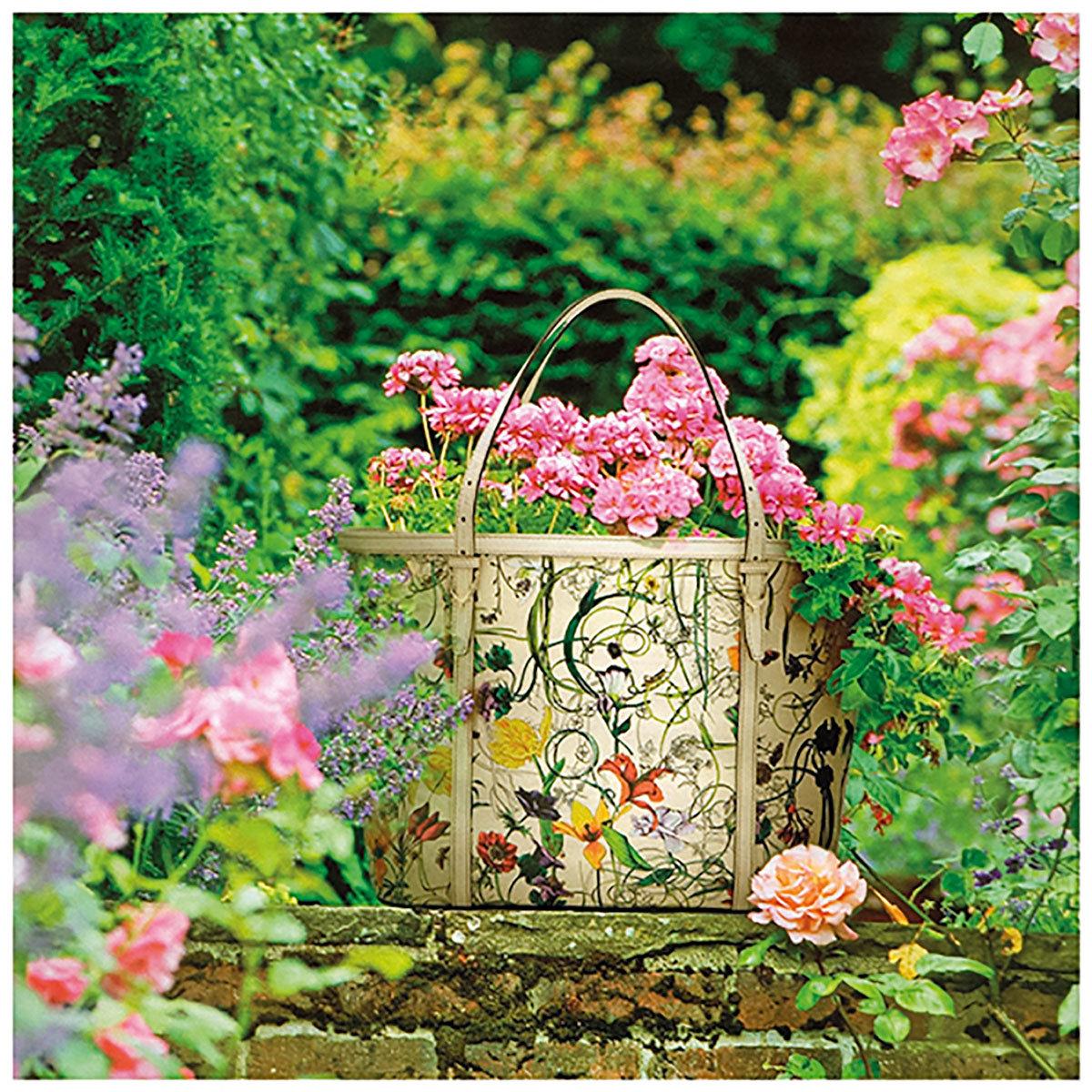 Garten-Gemälde Rosentraum