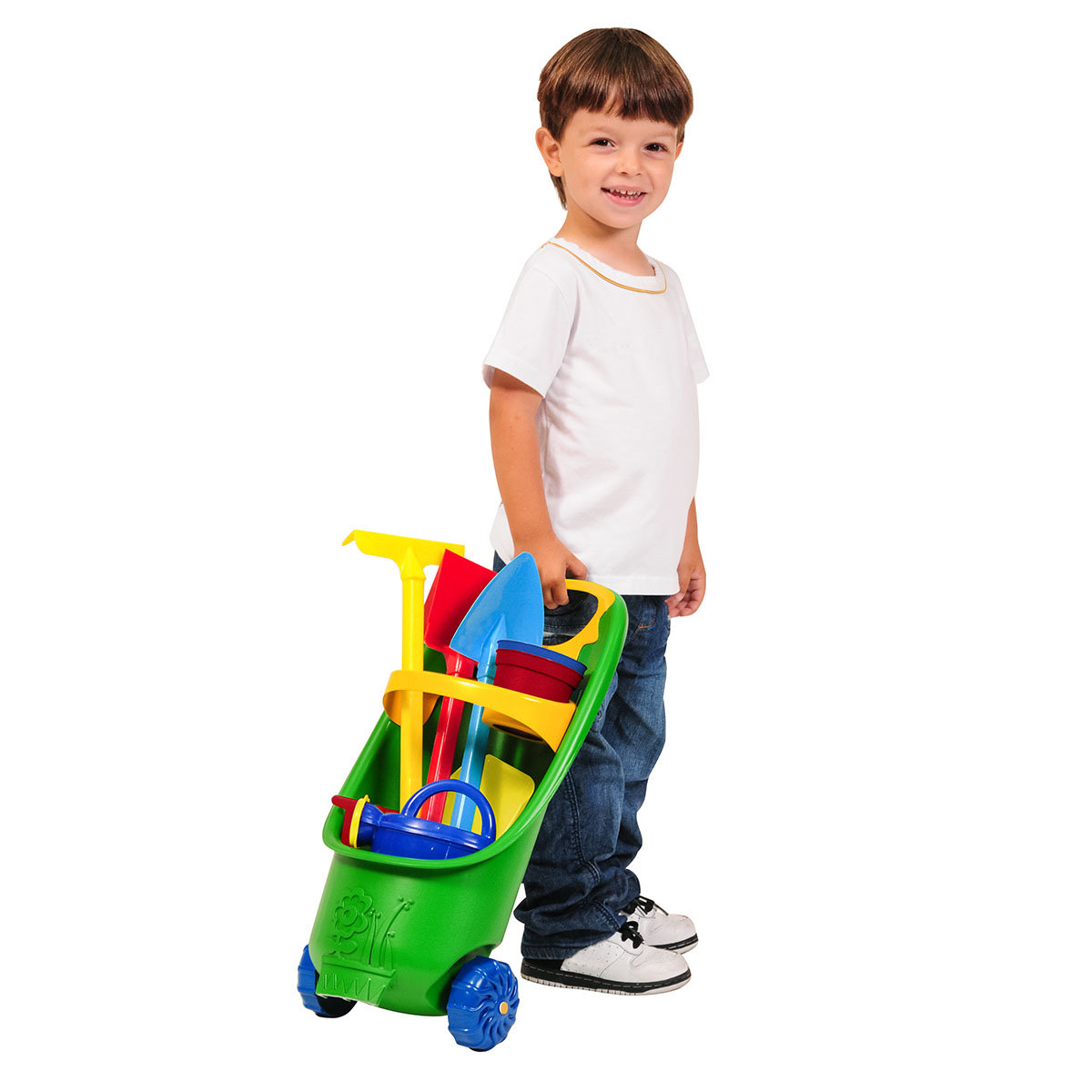 Kinder Gartentrolley 9-teilig