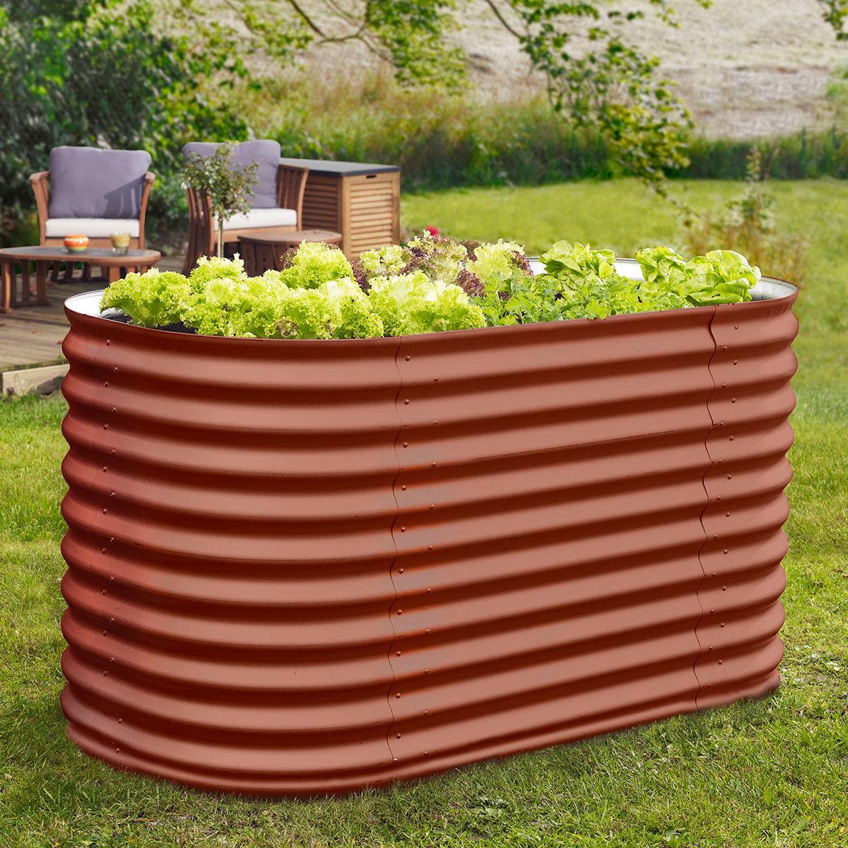 vitavia hochbeet rot online kaufen bei g rtner p tschke. Black Bedroom Furniture Sets. Home Design Ideas