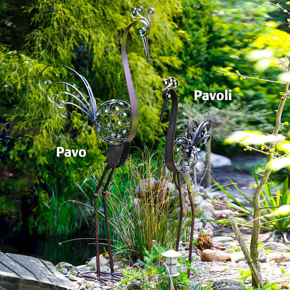 Vogelfigur Pavoli