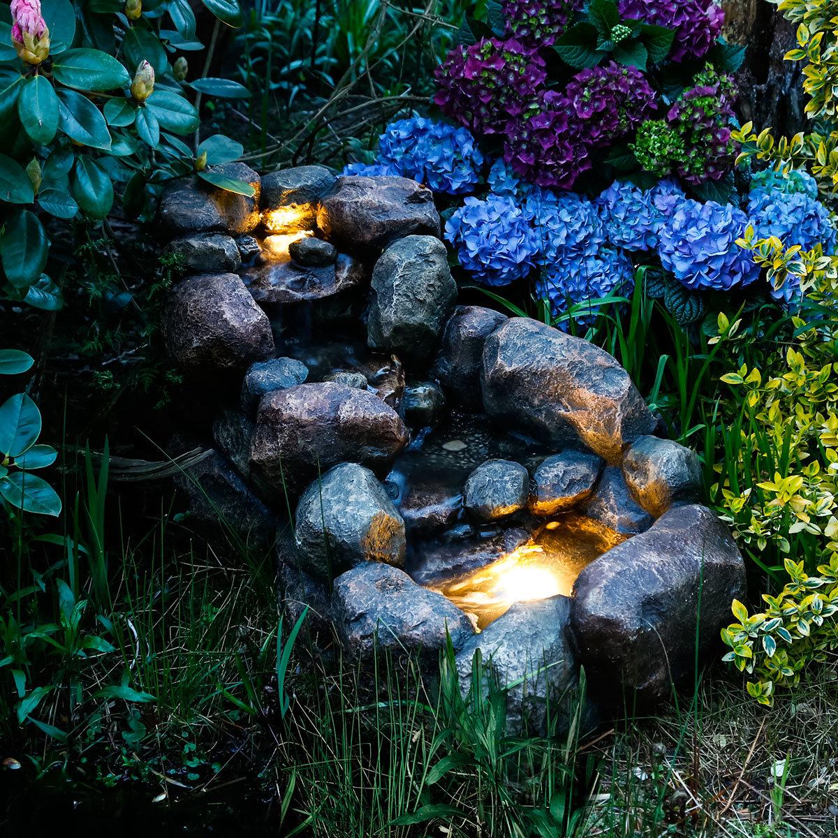 kaskaden-brunnen natura | von gärtner pötschke, Best garten ideen