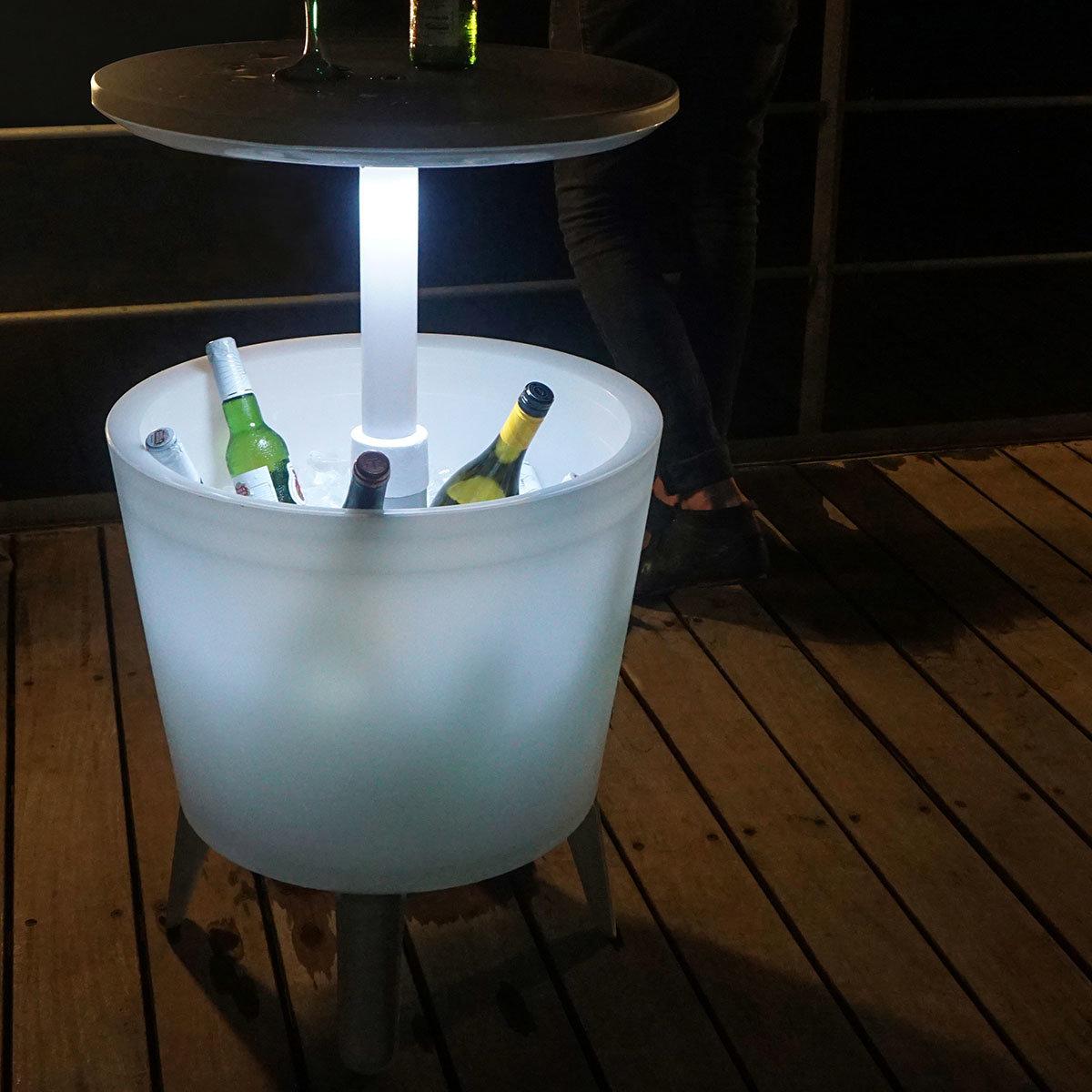 """Partytisch """"Cool Bar"""" mit integrierter Eisbox & Licht"""