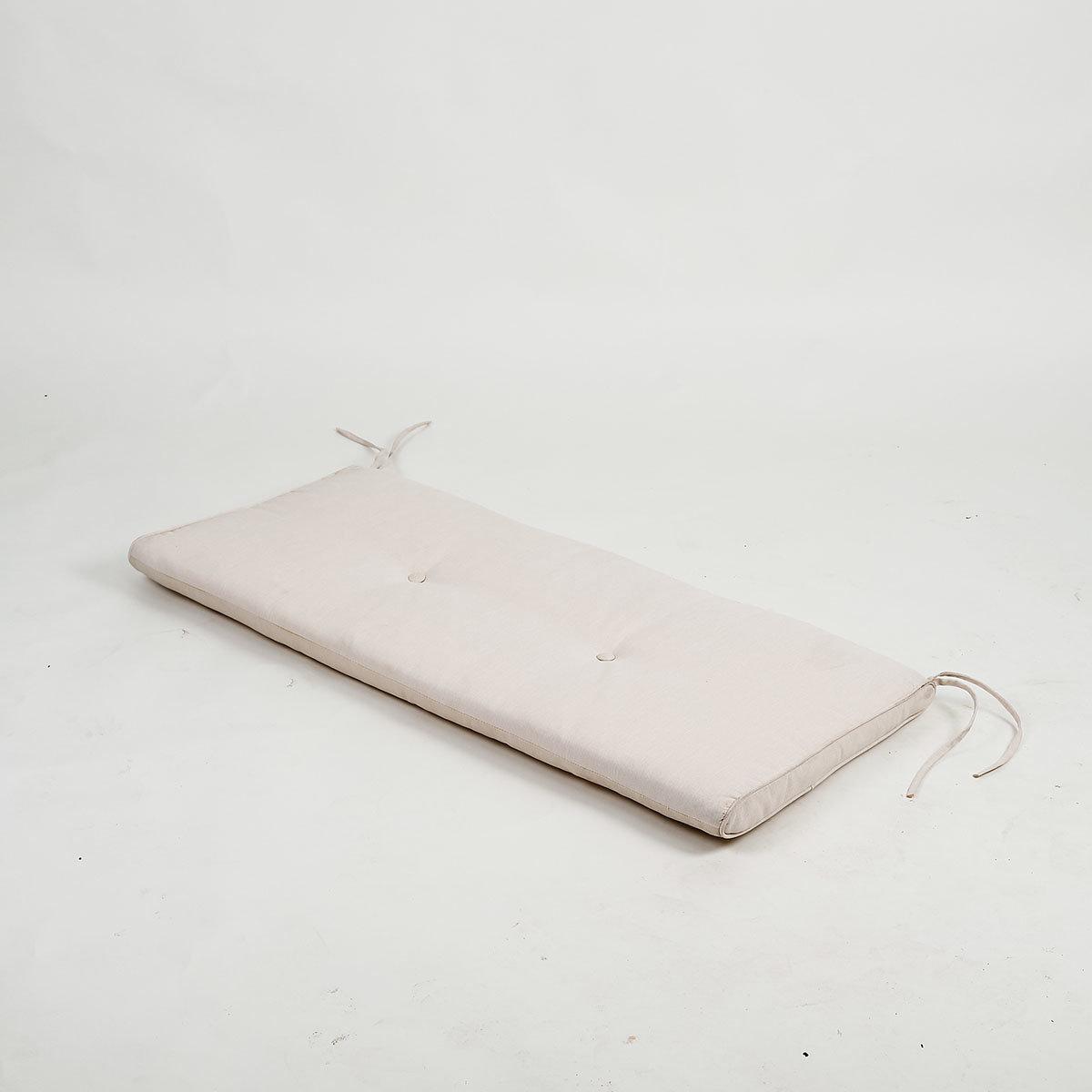 Sitzbank-Auflage 120 cm, creme