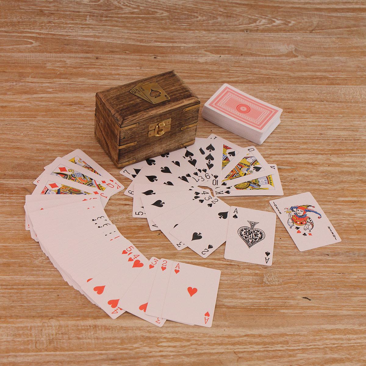 Spielkarten-Set Spielerglück