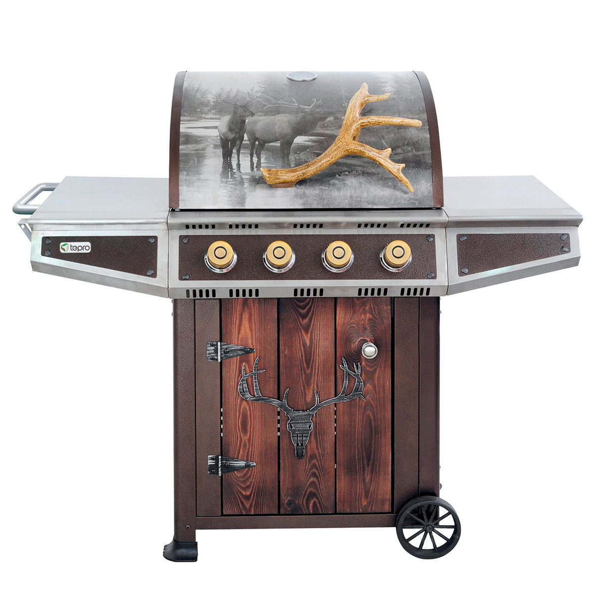 Gasgrill-Wagen Hunter Valley mit Unterschrank