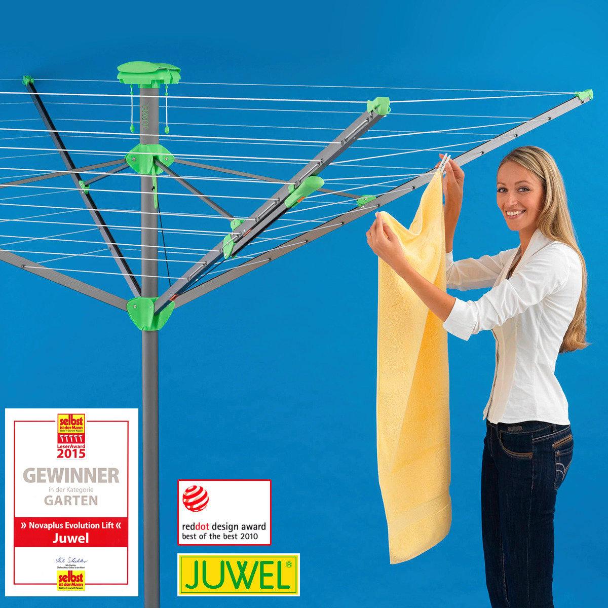 Wäschespinne JUWEL Novaplus Evolution Lift