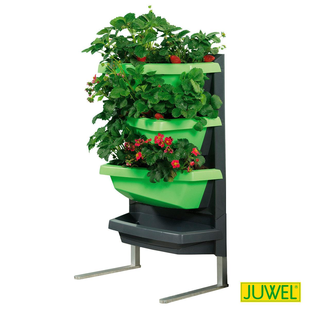 juwel vertical garden standfu aus aluminium online kaufen bei g rtner p tschke. Black Bedroom Furniture Sets. Home Design Ideas