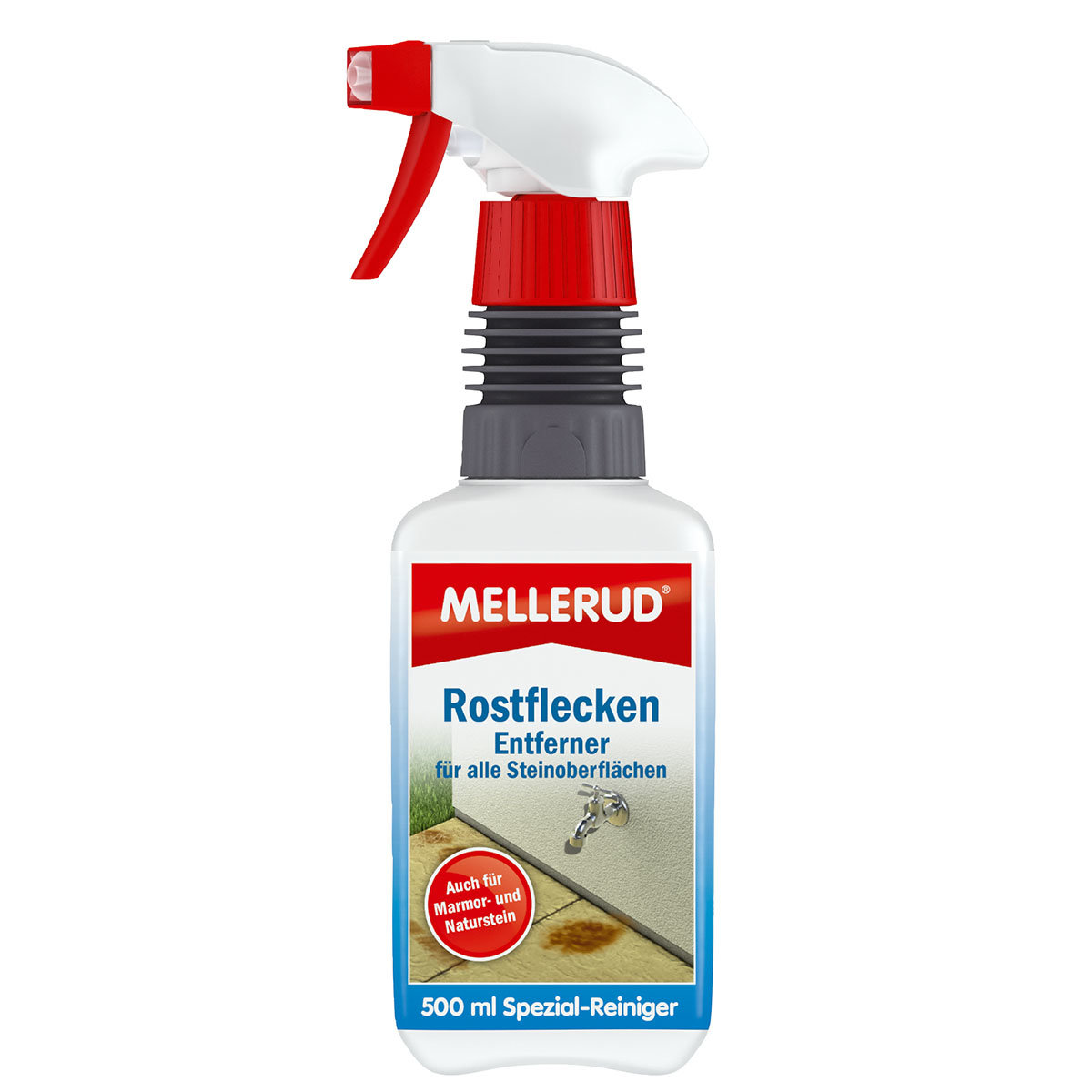 MELLERUD® Rostflecken Entferner f. Steinoberflächen 0,5 l