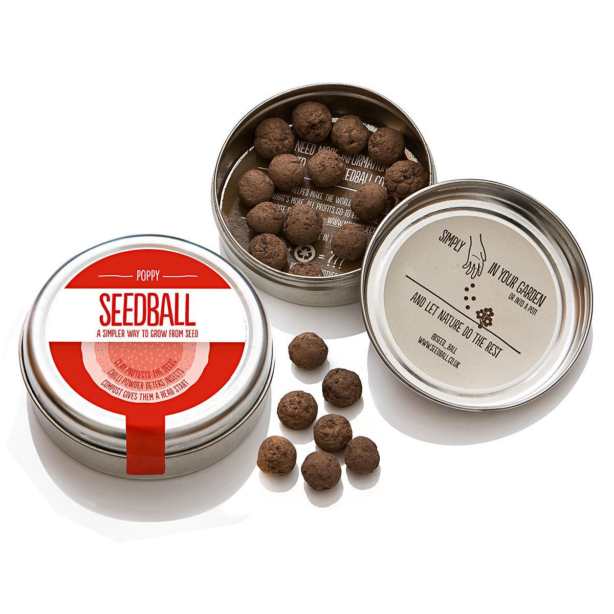 seedball mohn wiese 20 seedballs online kaufen bei g rtner p tschke. Black Bedroom Furniture Sets. Home Design Ideas