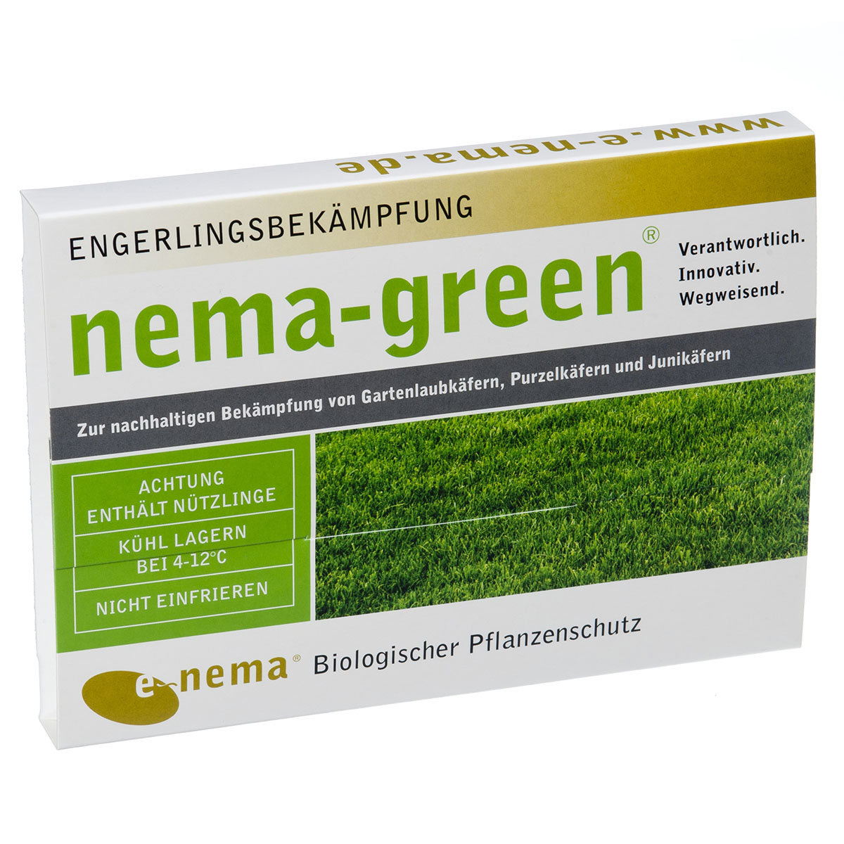 nema-green Nematoden gegen Rasenschädlinge, 50 Mio.