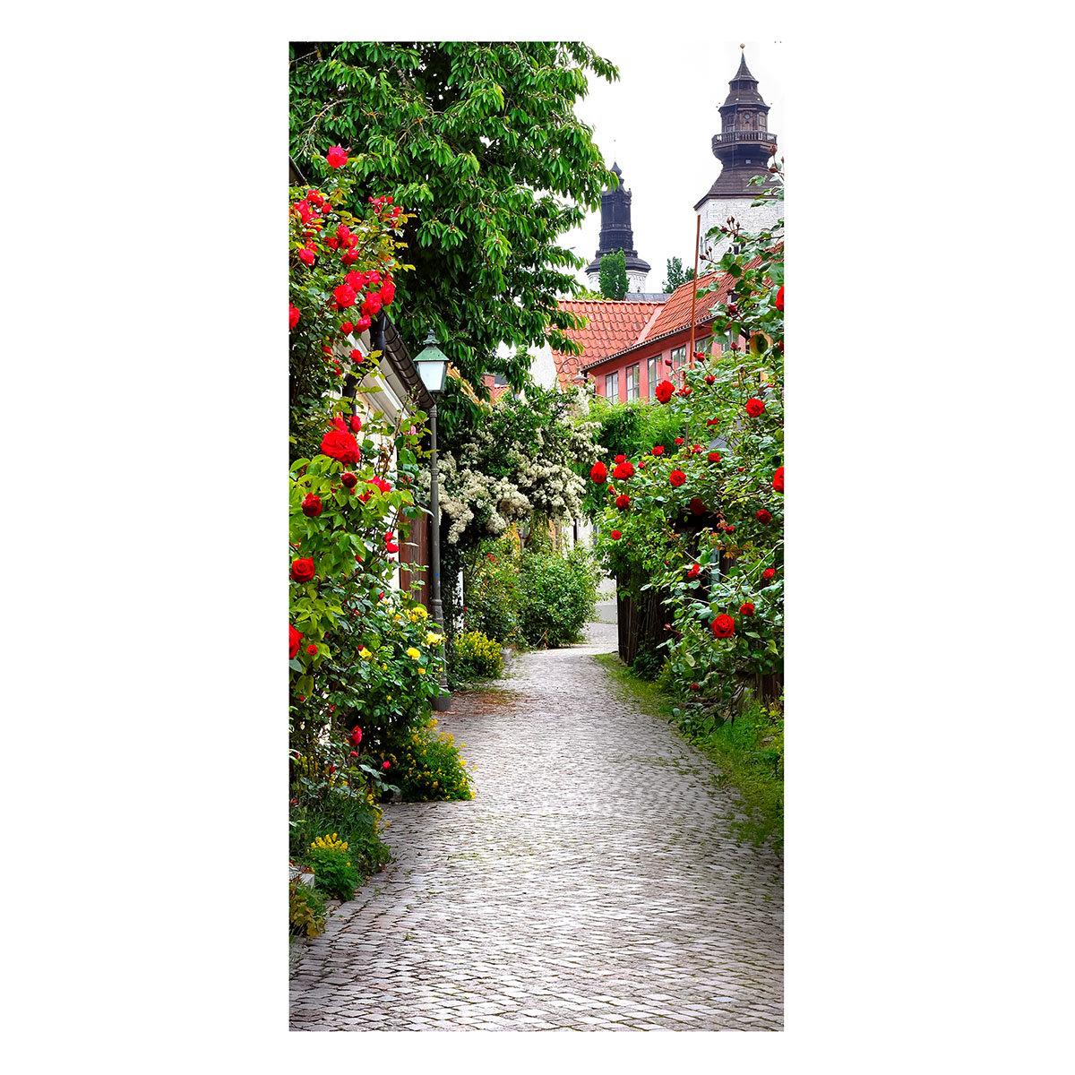 Gartenbanner Rosengasse 170 x 85 cm