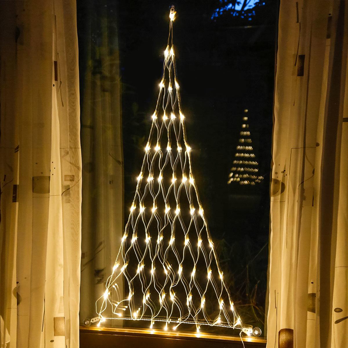 LED-Lichternetz Baumglanz