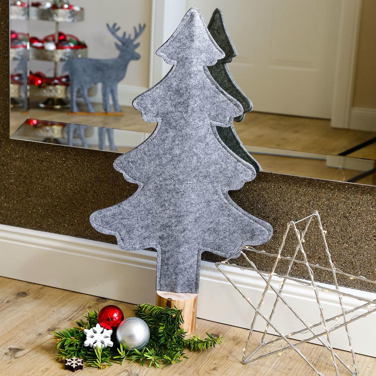 Filz-Weihnachtsbaum Winter Time, groß
