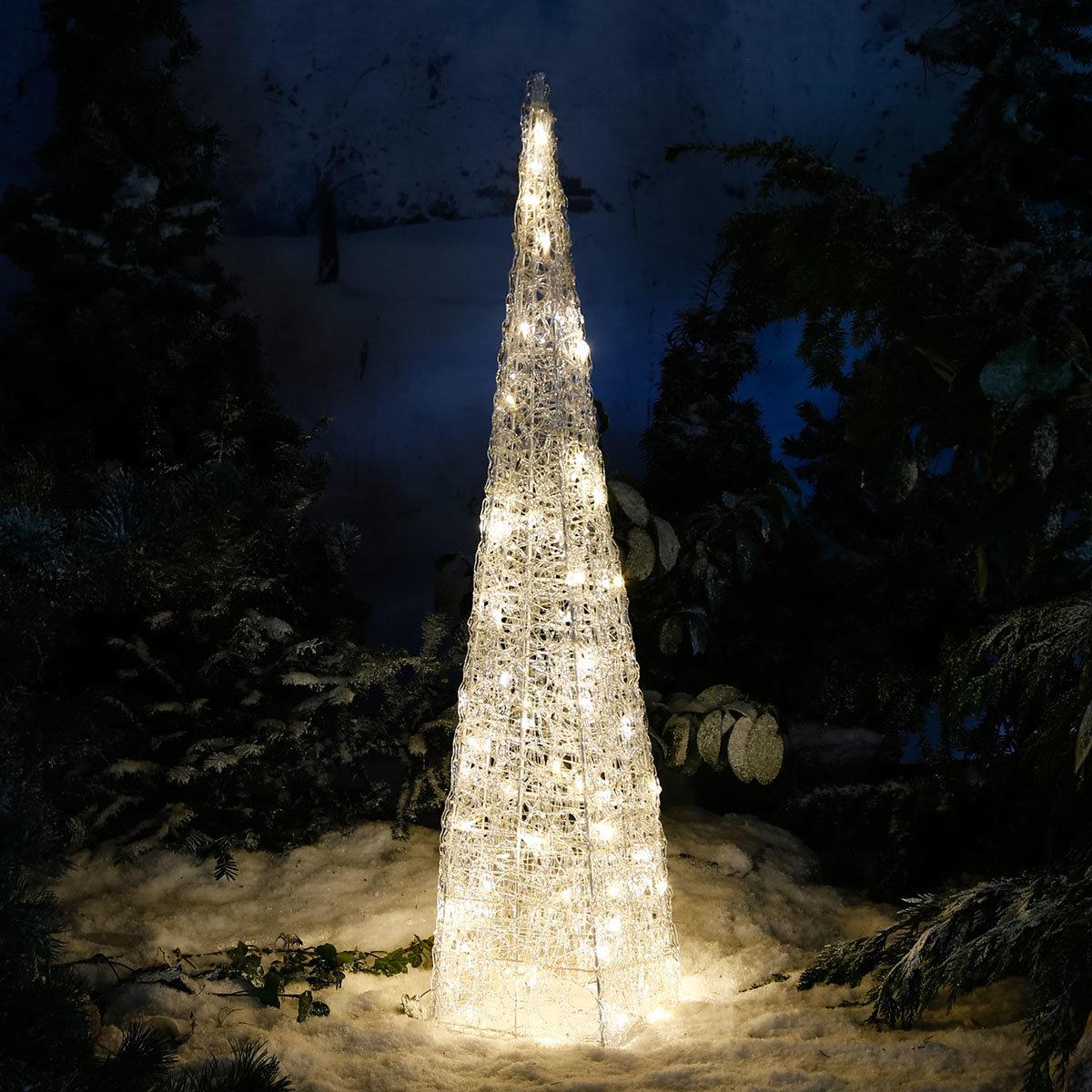 LED-Leucht-Pyramide Starlight, 72 LEDs