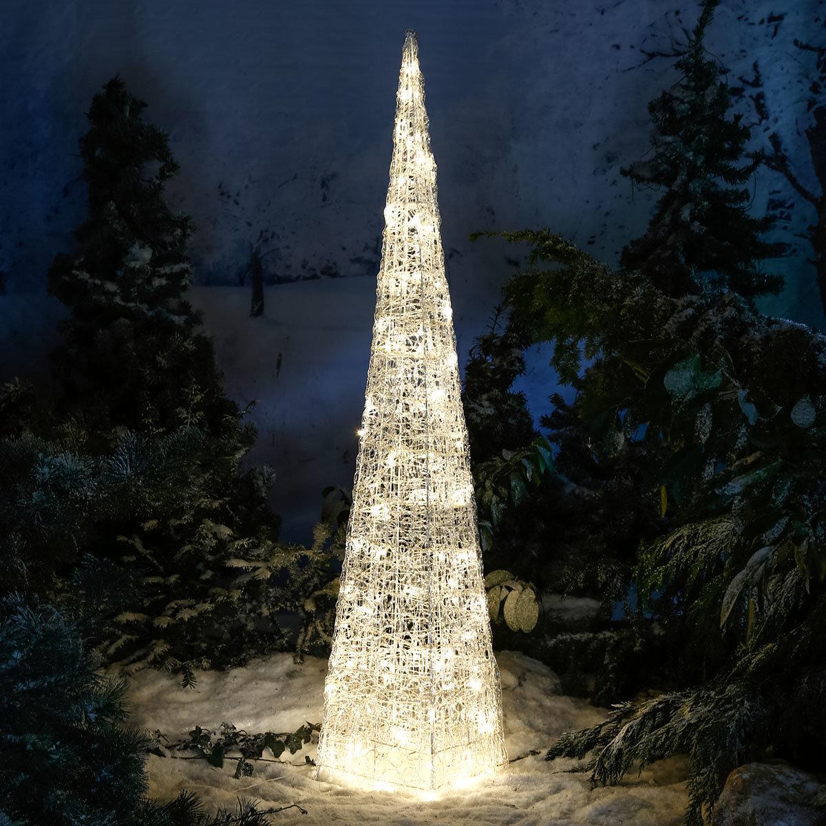 LED-Leucht-Pyramide Starlight, 96 LEDs