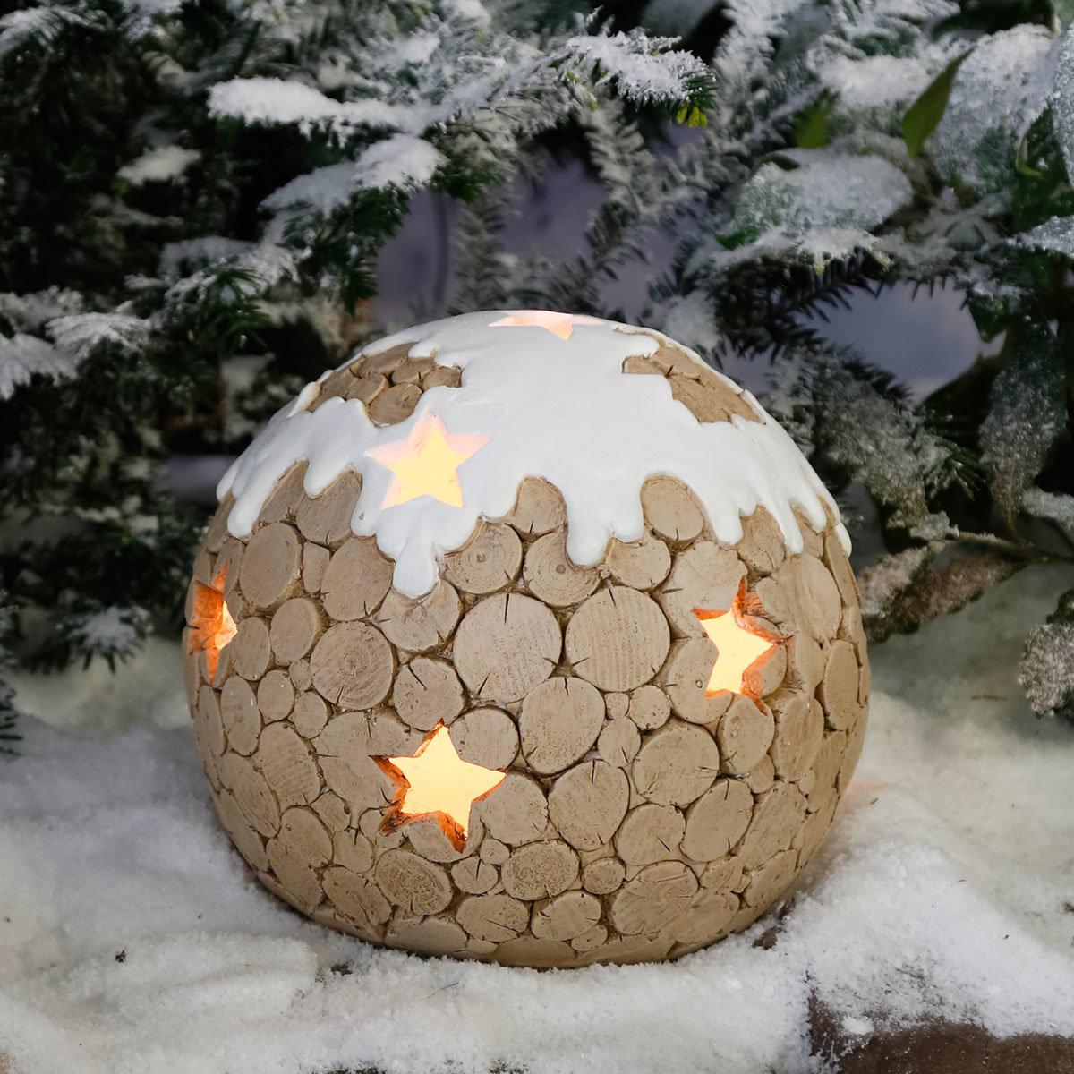 deko kugeln winterzauber mittel von g rtner p tschke. Black Bedroom Furniture Sets. Home Design Ideas