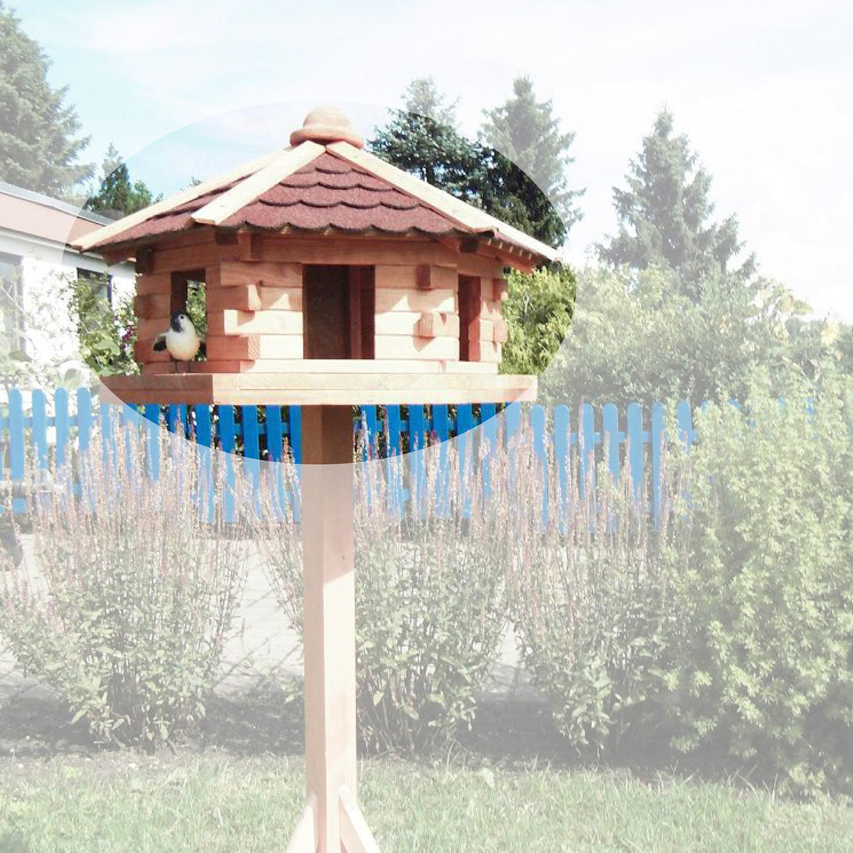 Vogelhaus Knusperhäuschen