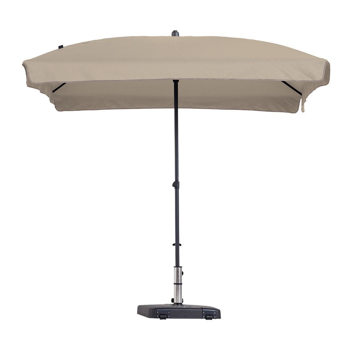 sonnenschirm patmos luxe eckig ecru von g rtner p tschke. Black Bedroom Furniture Sets. Home Design Ideas