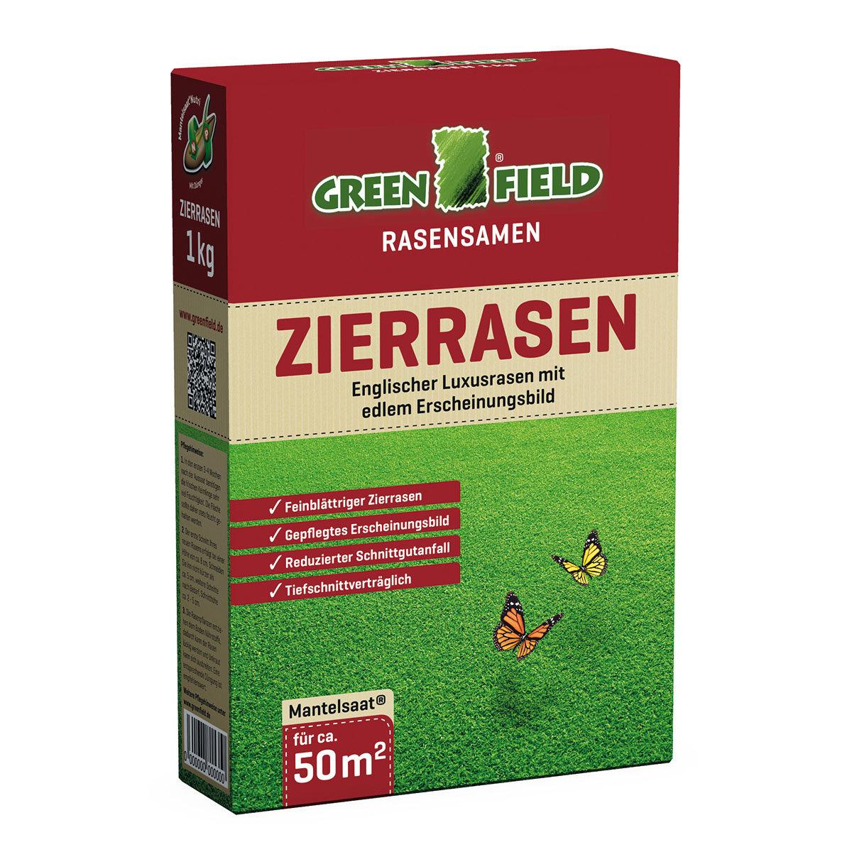 Greenfield Zierrasensamen, 1 kg