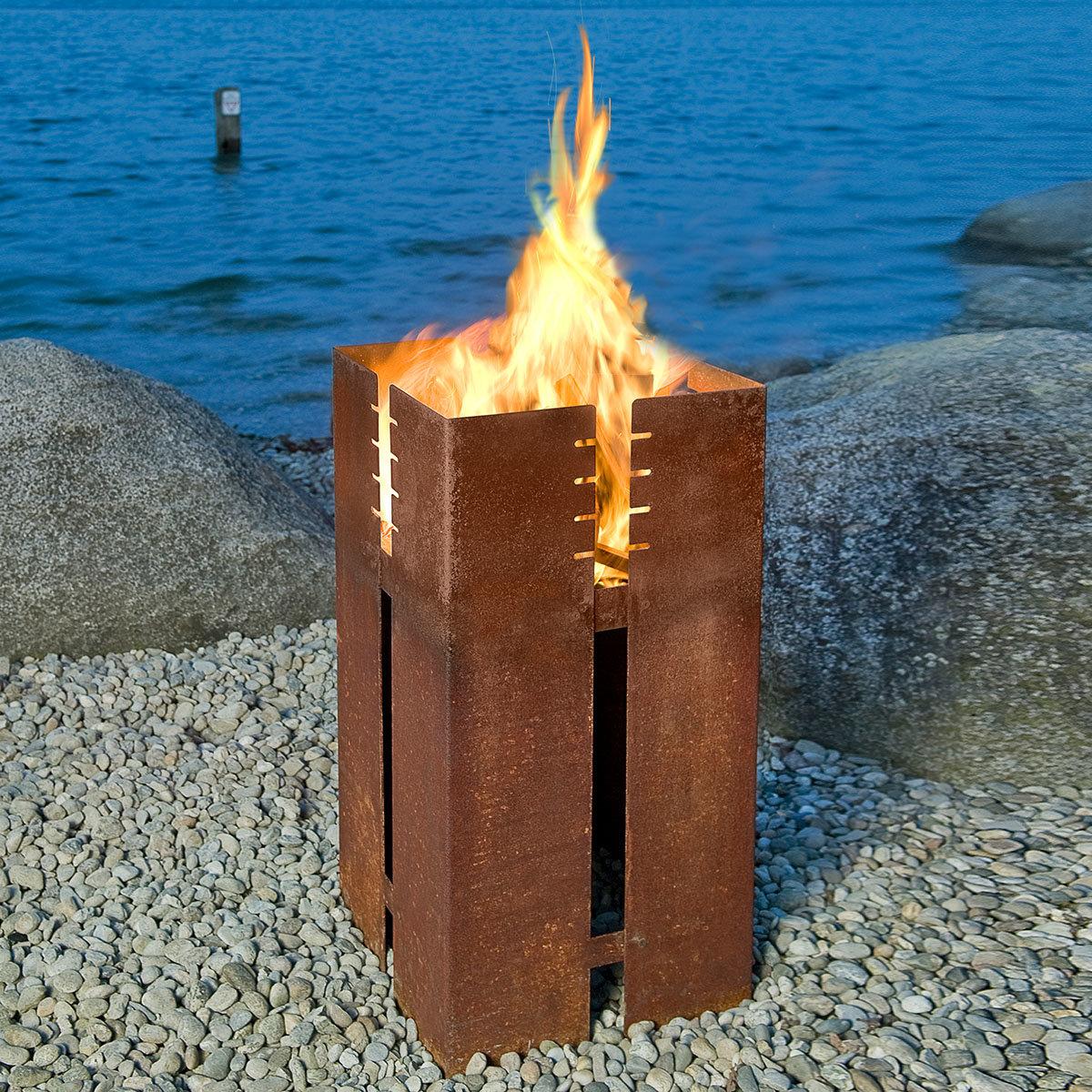 Feuerstelle und Grill Ferrum, Set