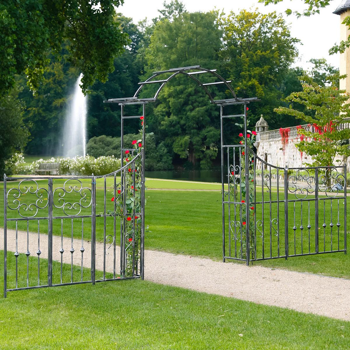 Gartentor Queen's Park mit Zaun