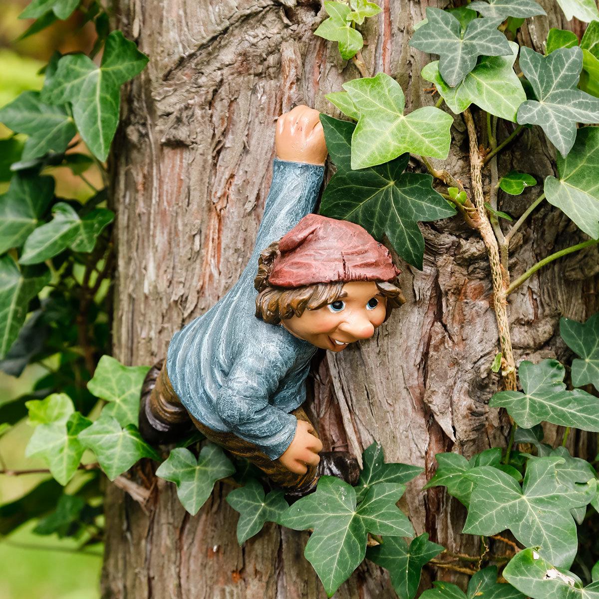 Gartenfigur Kletter-Gnom Tarzan