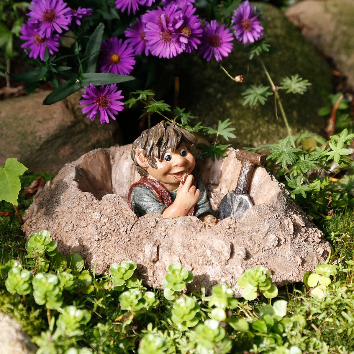 Gartenfigur Gnom Paul Päusschen