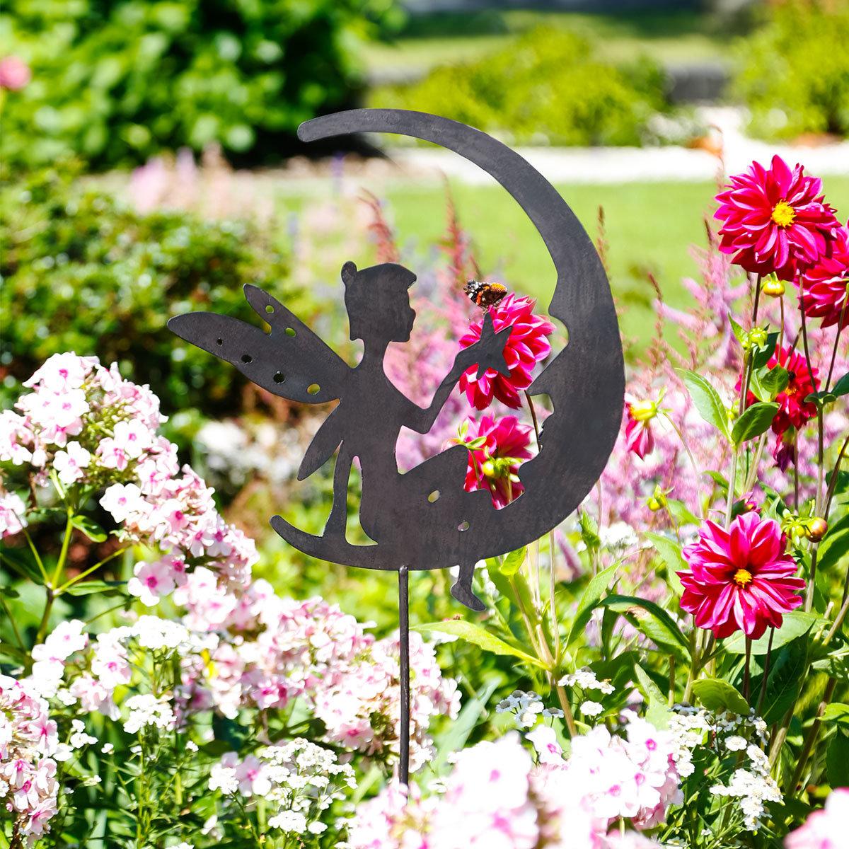Gartenstecker Elfe Silviana
