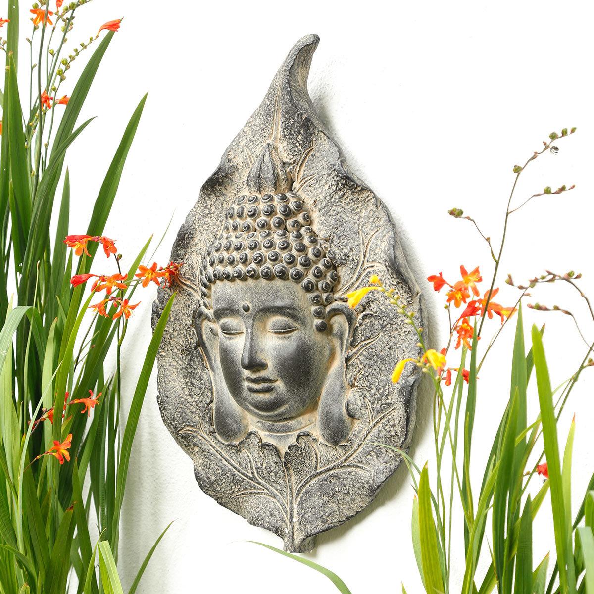 Wanddeko Buddha Karma