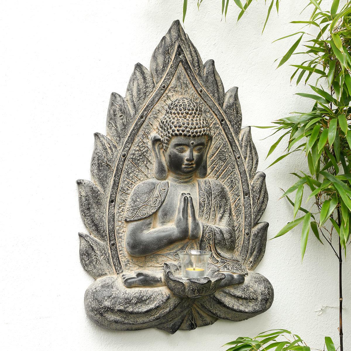 Wanddeko Buddha Karuna