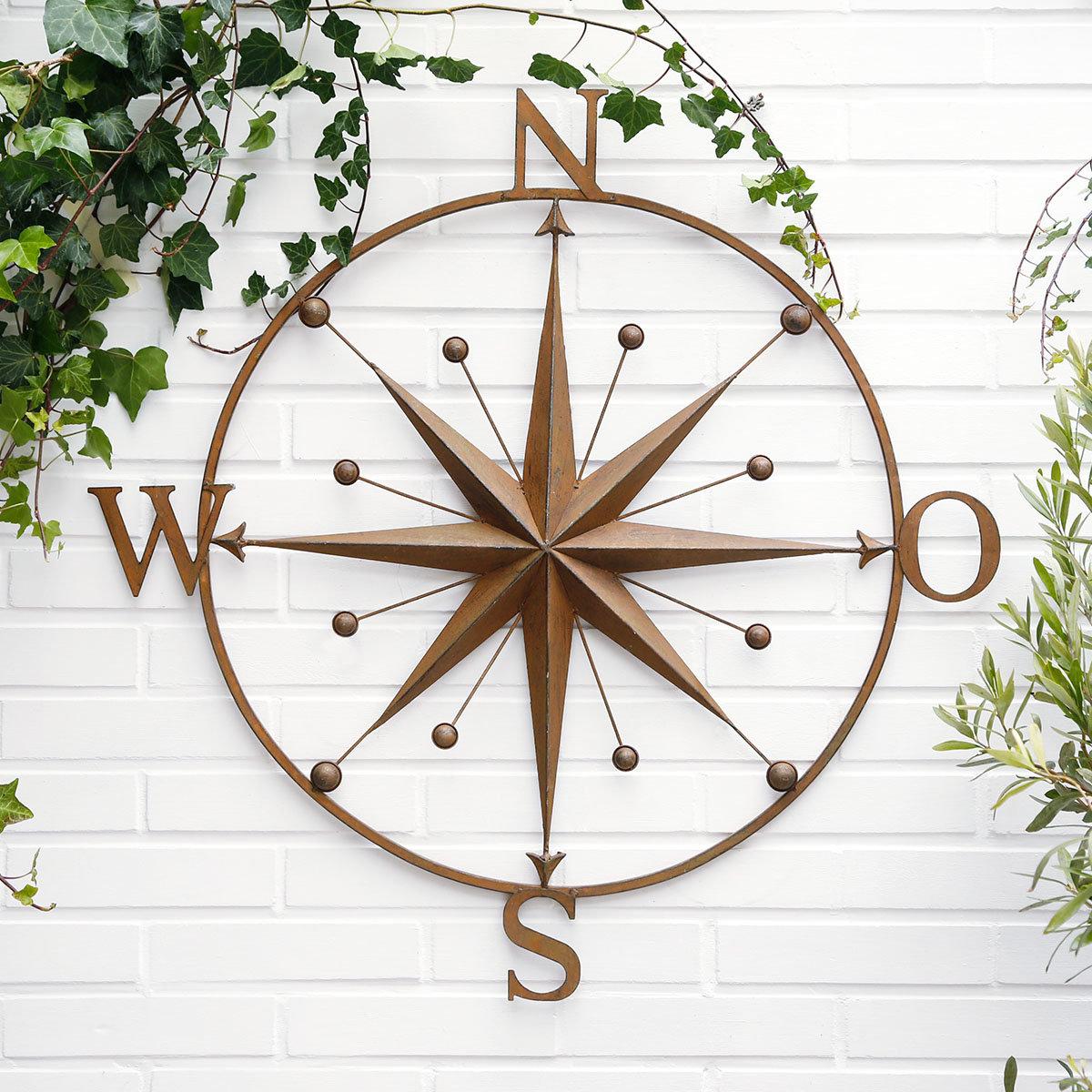 Wandbild Kompass