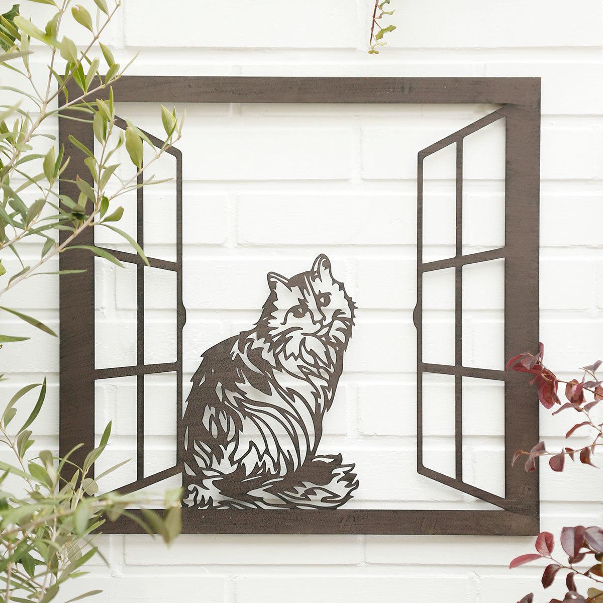 Wandbild Katze Purzel