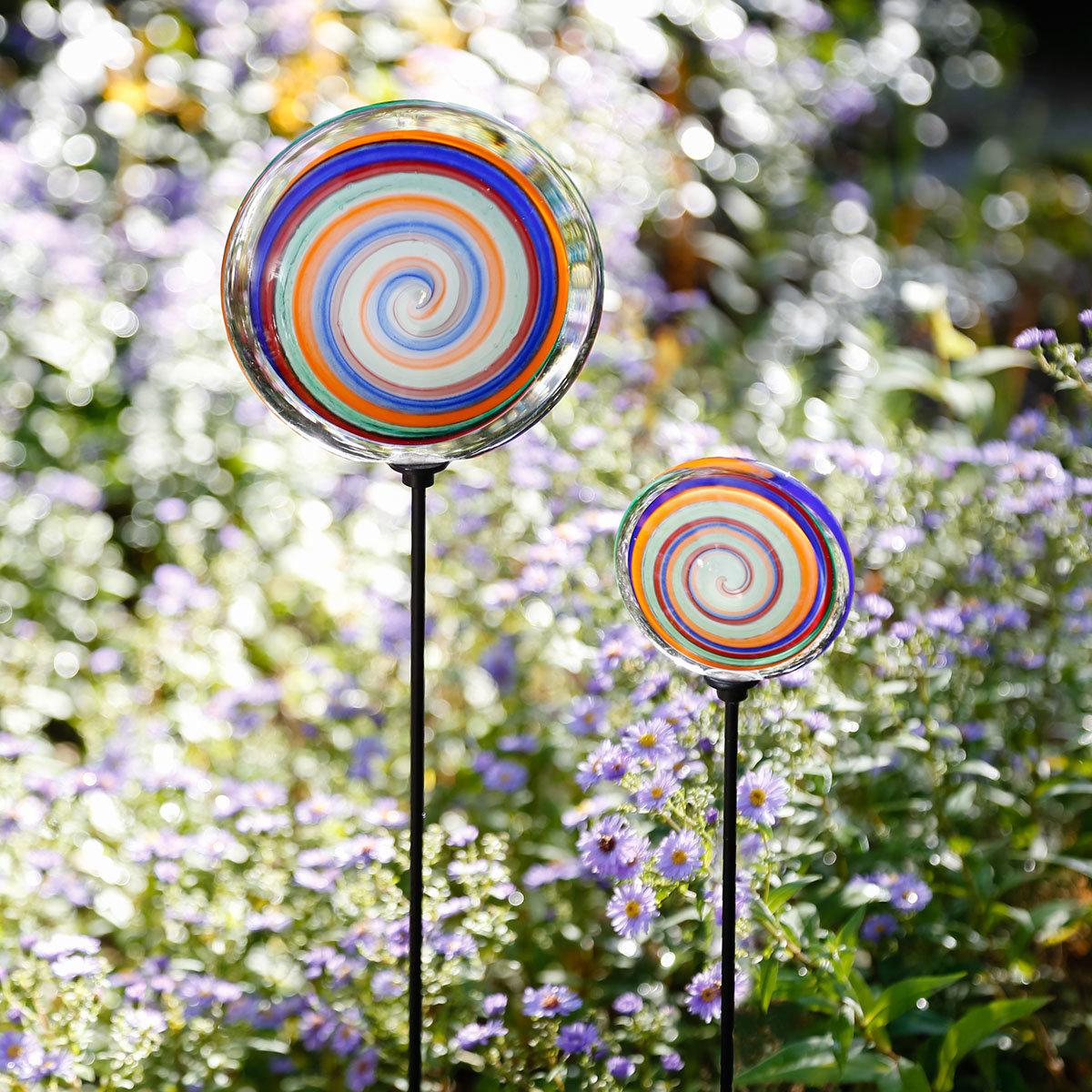 Gartenstecker Lollipop, 2er-Set