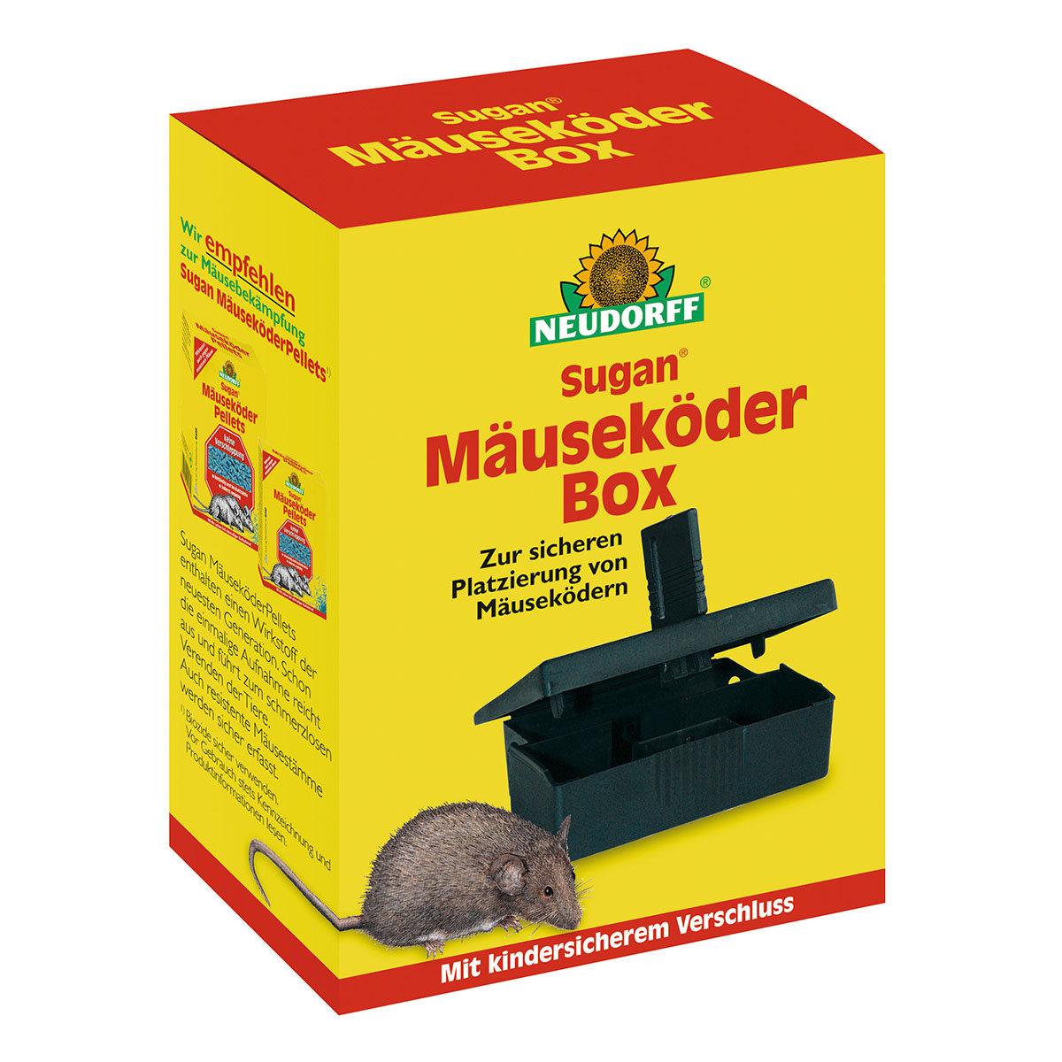 Sugan Mäuseköder Box, 1 Stück