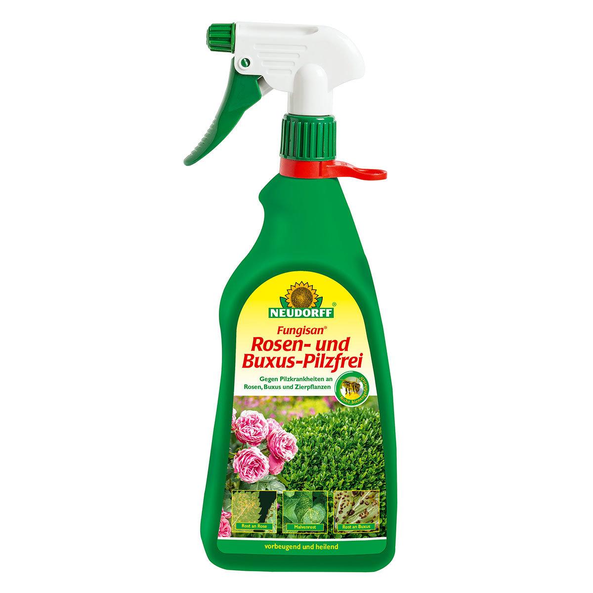Rosen- und Buxus-Pilzfrei, 1 Liter anwendungsfertig