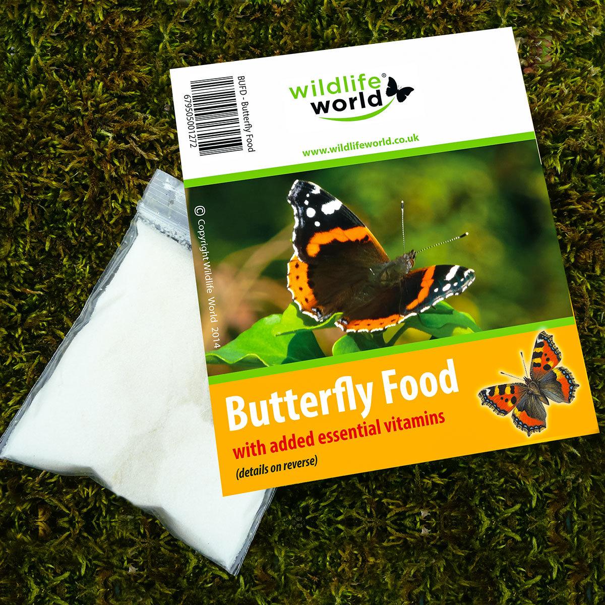 Schmetterlingsfutter, 40 g