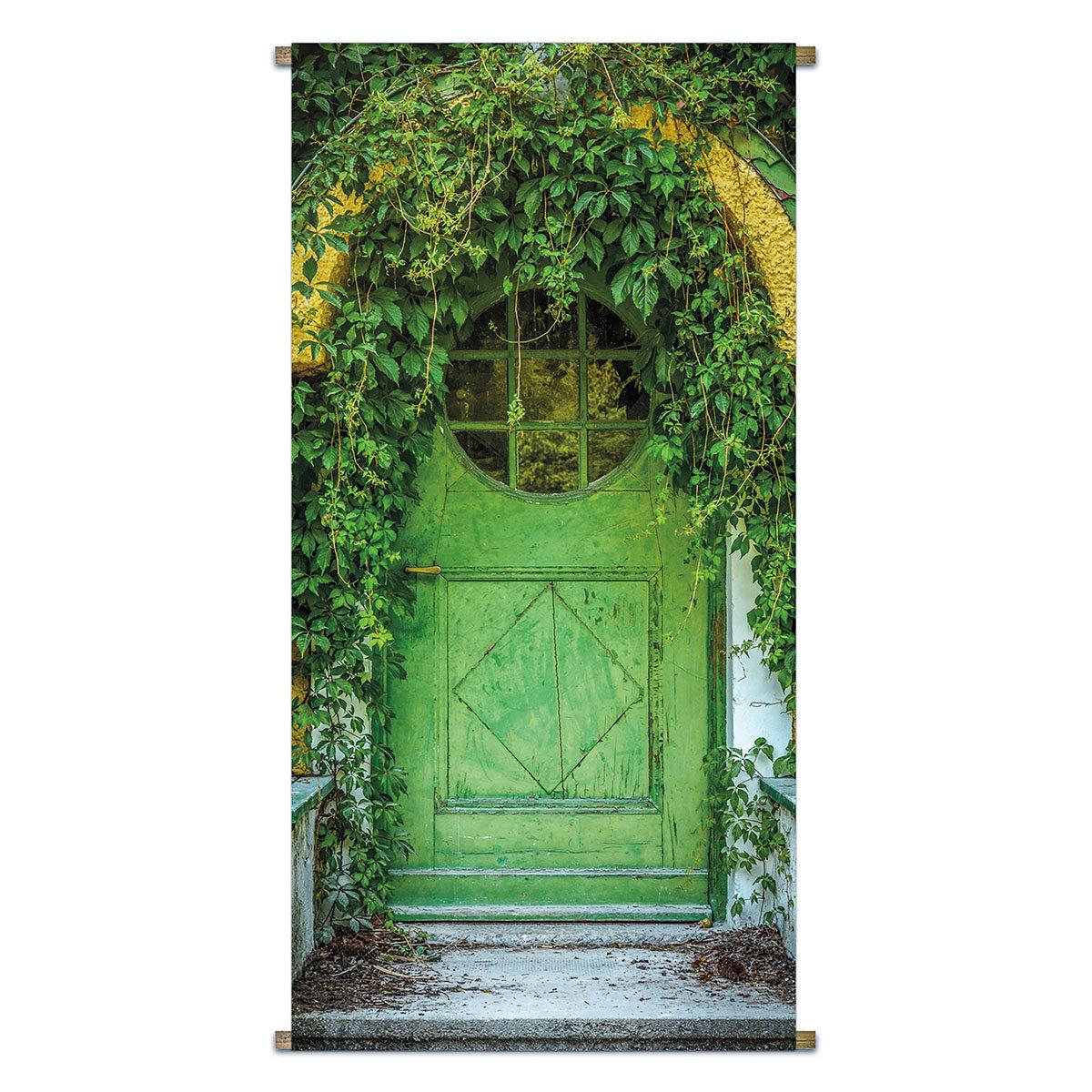 Gartenbanner Verwunschener Eingang 170 x 85 cm