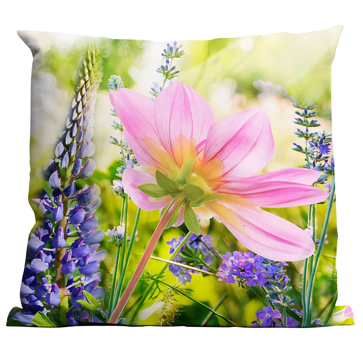 Outdoor-Kissen Wildblumen 45 x 45 cm