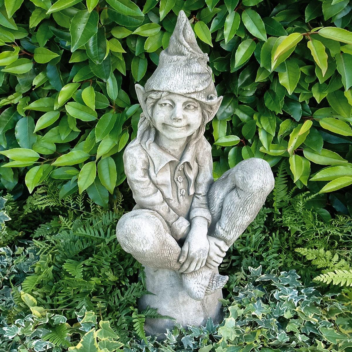 Gartenfigur Elfe Avalo