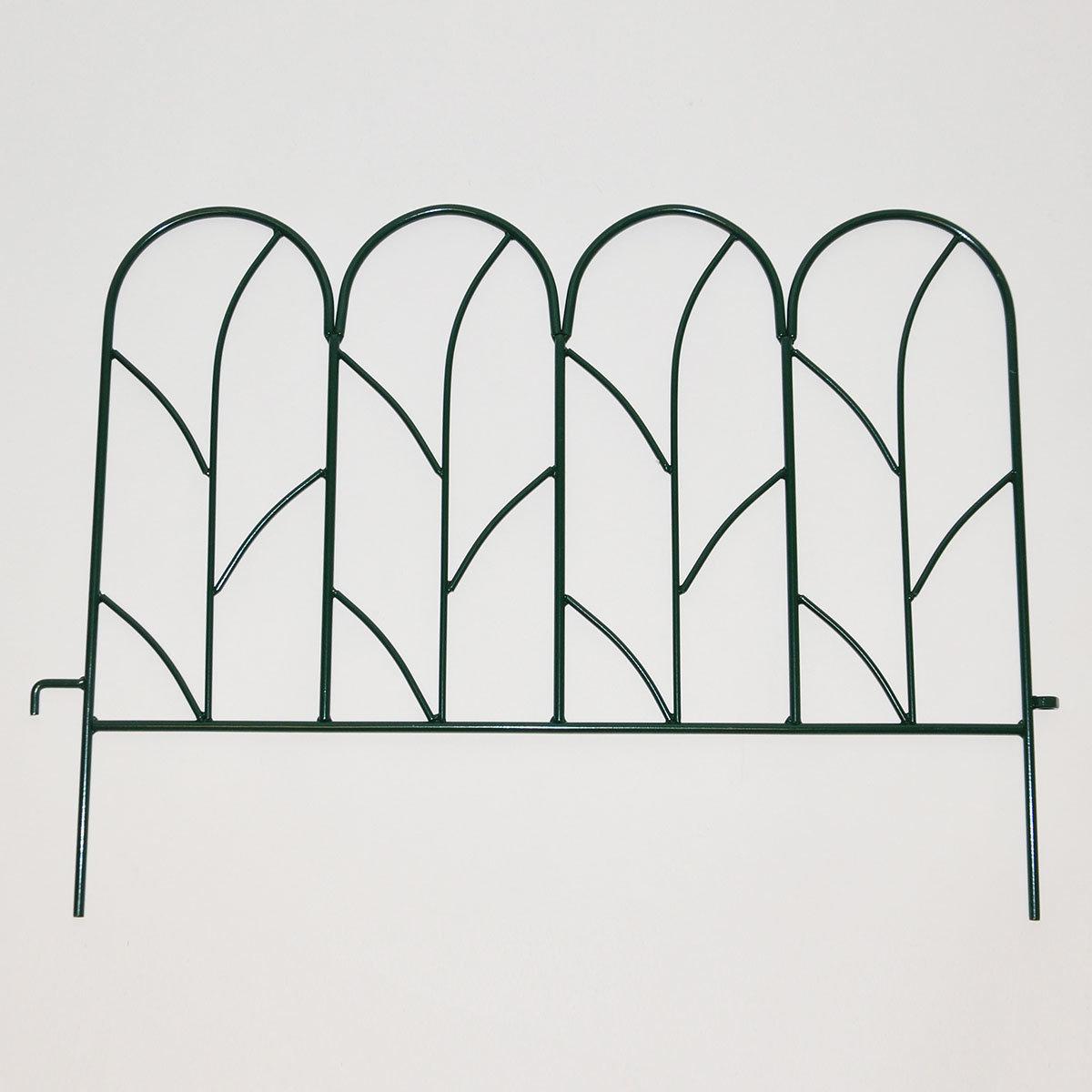 Beetzaun Liane, 4er-Set, oxford-grün