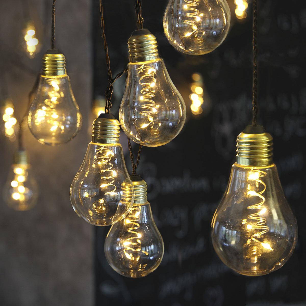 LED-Lichterkette Glow, 10-teilig