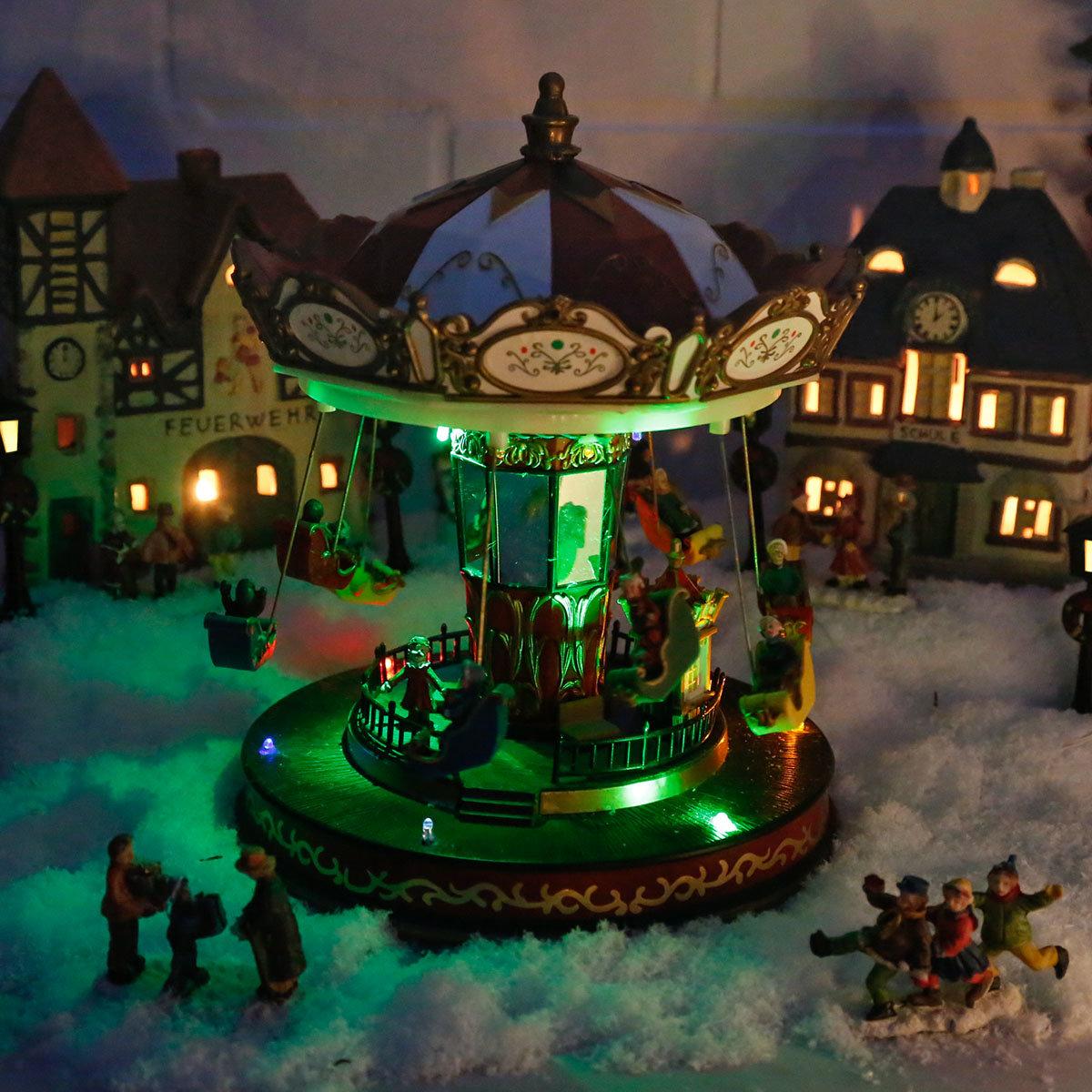 LED-Karussell Winterspaß