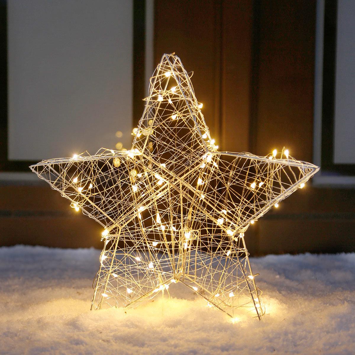 LED-Leuchtstern Deko-Star, klein