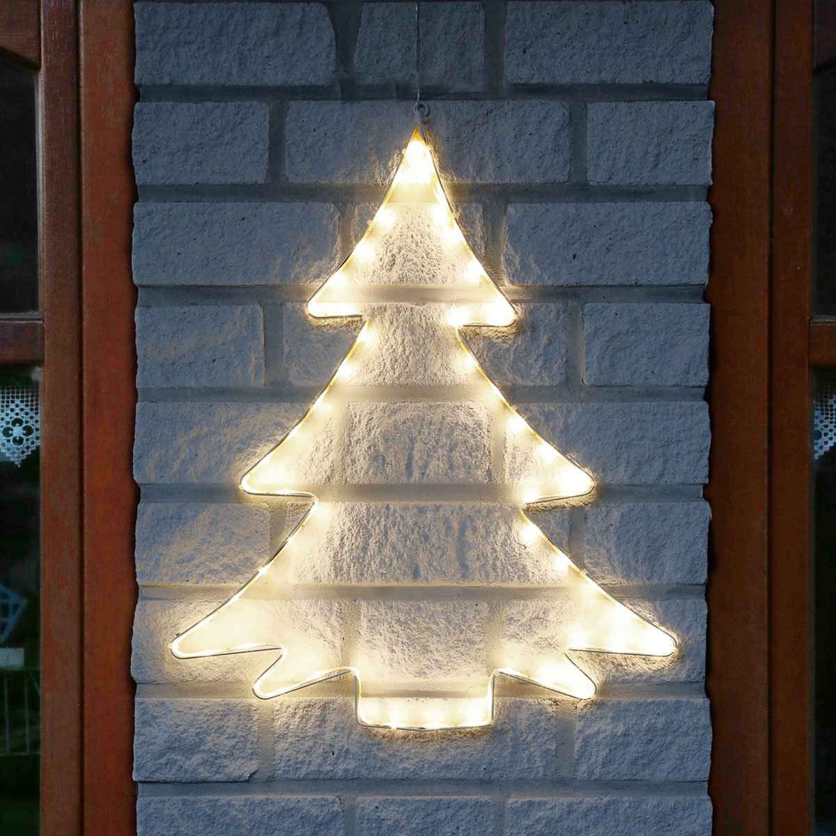LED-Silhouette Tannenbaum