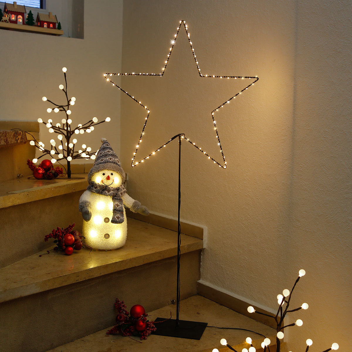 LED-Standleuchte Sternenhimmel