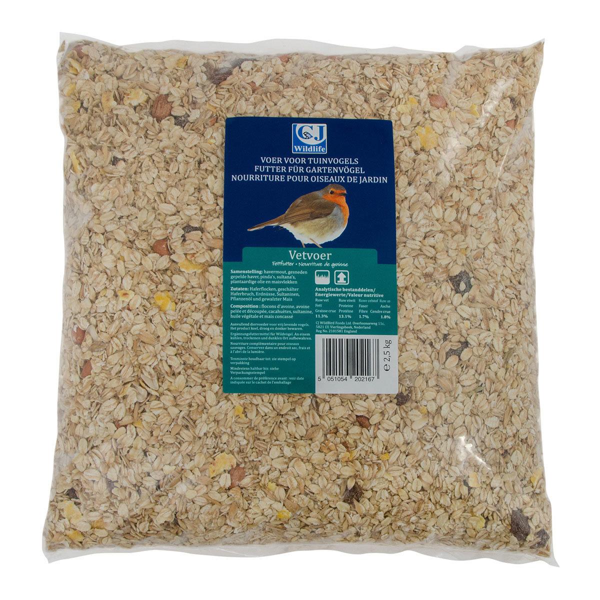Premium-Fettfutter, 2,5 kg